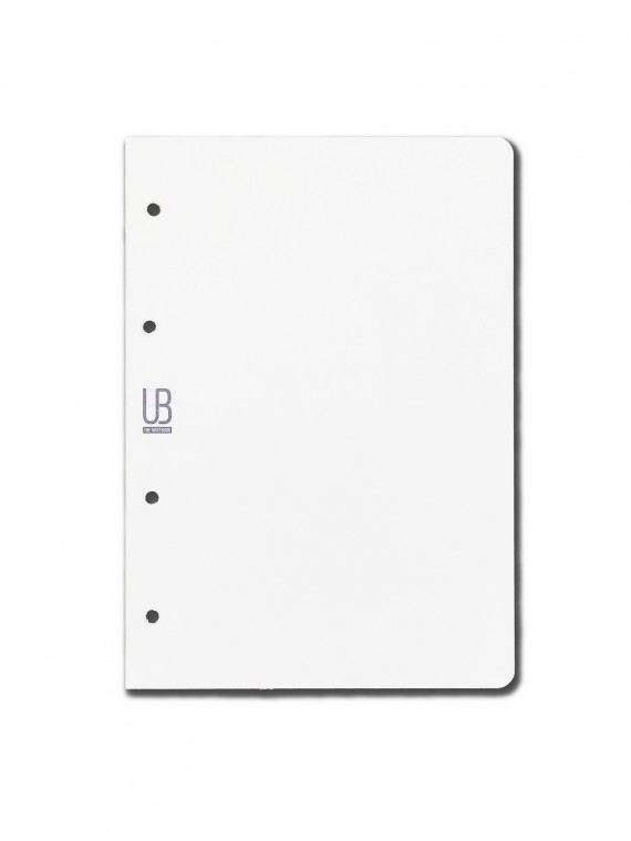 Agenda din piele naturala The Notebook by URBAN BAG dimensiune A5 - rezerva blank