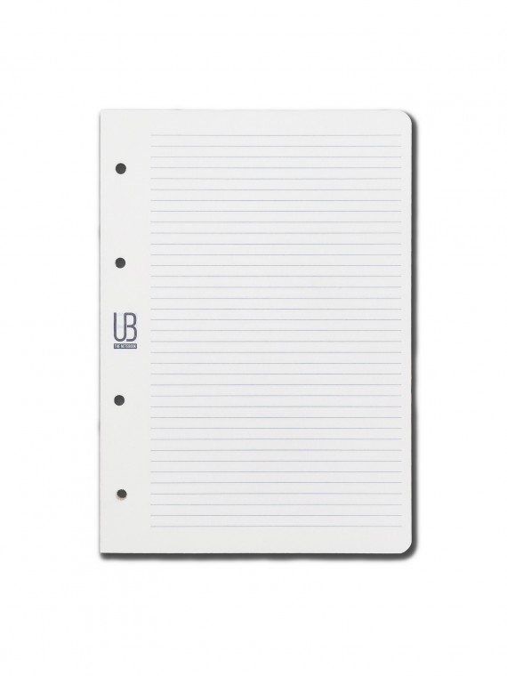 Agenda din piele naturala The Notebook by URBAN BAG dimensiune A5 - rezerva liniar