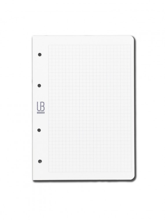 Agenda din piele naturala The Notebook by URBAN BAG dimensiune A5 - rezerva patratele