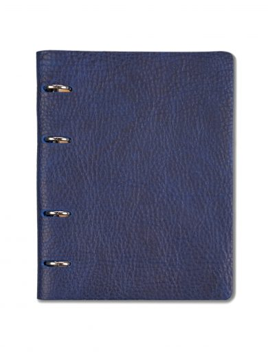 Agenda din piele naturala The Notebook by URBAN BAG dimensiune A5 – Electric Blue - editie limitata