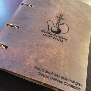 Agenda din piele naturala The Notebook by URBAN BAG dimensiune A5 – Brown